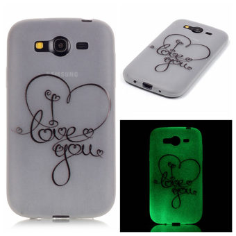 Luminous Fluorescent Glow Ultra Thin Soft TPU Gel Silicone BackCase Cover for Samsung Galaxy Grand Neo i9060 / Duos i9082(Design-17) - intl