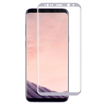 LUOWAN Galaxy S8 Plus Tempered Glass Screen Protector,3D FullCoverage Screen Protector for Samsung Galaxy S8 Plus (White)