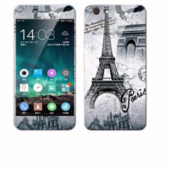 Luxury 3D Painting Front+Back Full Case Cover Color Tempered Glass Case For Vivo Y53 Screen Protector Film (Color-21) - intl