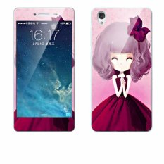 Luxury 3D Painting Front+Back Full Case Cover Color Tempered Glass Case