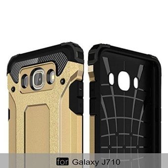Luxury Double Protective Case Metal Cover for Samsung Galaxy J7 2016 - intl - 4