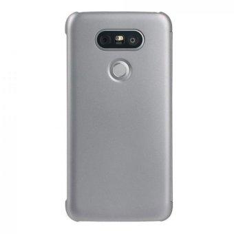 Luxury Flip Smart Case Cover Skin For LG G5 Silver - intl - 2