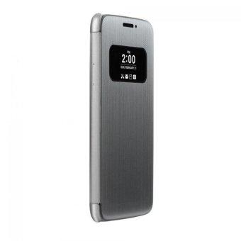 Luxury Flip Smart Case Cover Skin For LG G5 Silver - intl - 4