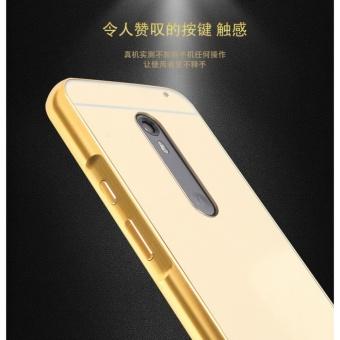 ... Luxury Mirror Bumper Anti-Scratch Bright Protective Case For Motorola Moto X Play(gold ...