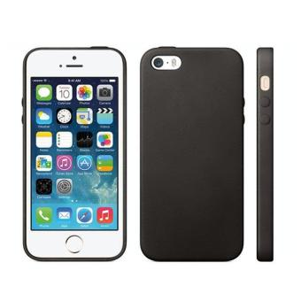 Luxury Soft TPU GEL Case Bakc Cover for Apple iPhone 5 5S Black - intl