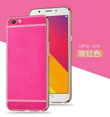 PHP 474 Luxus Riefen weichen dSilikonh lle Fallschutz Case Cover For Oppo F1s .
