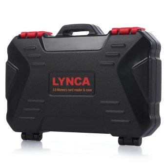 LYNCA USB3.0 5Gbps Memory Card Reader Case (Black) - intl Price Philippines