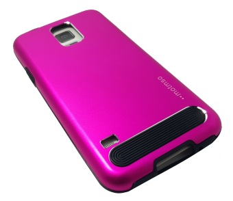 M-Series Metal Case for Samsung Galaxy S5 (Pink) - picture 2
