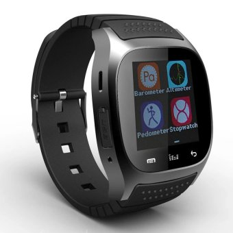M26 Bluetooth Smart Watch for Android Samsung Phone (Black) - 3