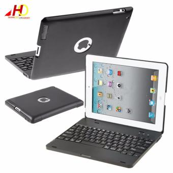 M3 Wireless Bluetooth Keyboard Case for iPad 2/3/4 (Black)