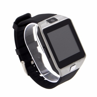 M9 Intelligent Phone Quad Smart Watch with Sim Card Slot(Black/Silver) With Free New Genai Skywalker-B1 Extreme BluetoothHeadset (Black) - 4
