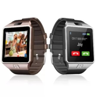 M9 Intelligent Phone Quad Smart Watch with Sim Card Slot(Gold/Silver) Set Of 2