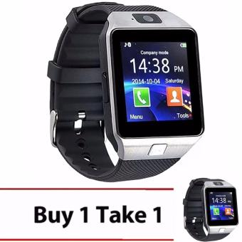 M9 Phone Quad Smart Watch (Silver) BUY1 TAKE1