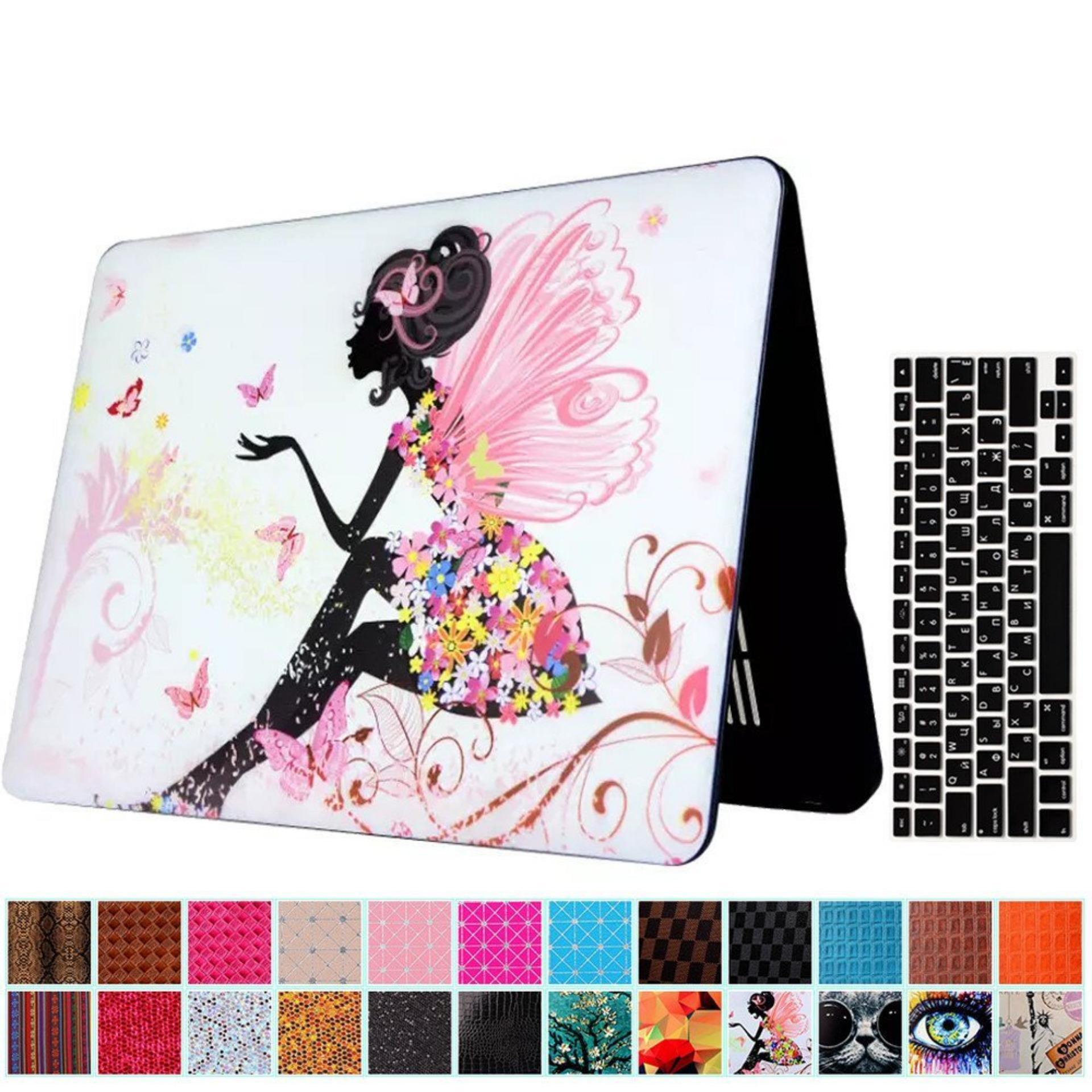 ... Macbook Air 13'' Case and Keyboard Protector, 2 in 1 BeautifulPattern Hard Case ...