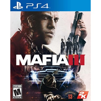 MAFIA 3 PS4 GAME R3,R1 MINT CONDITION