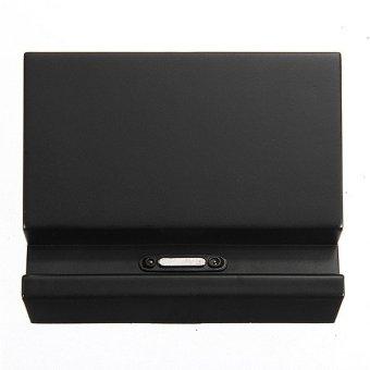 Magnetic Desktop Charging Dock Charger USB Cradle For Sony XperiaZ1 Z2 Z3 L39H Black