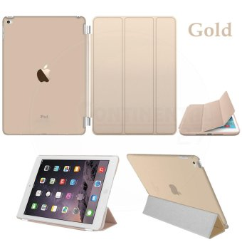 Magnetic Slim Leather Smart Cover Hard Back Case For Apple iPadmini 4 - intl