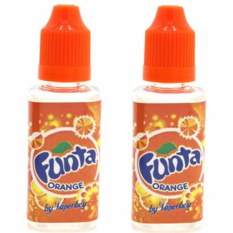 Malaysian 30ml Premium Vapor E-Juice for Electronic Cigarette setof 2 (Funta Orange)