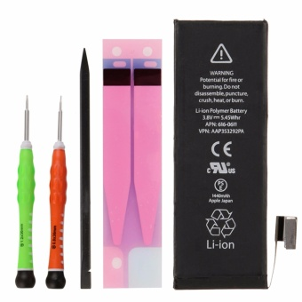 Mango(R) Battery Replacement for iPhone 5 (not 5S/5C) with DIY Tool Kit (Color Screwdriver) Price Philippines