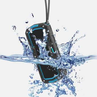 Mango(R)M1930 (Blue) Portable Wireless Bluetooth Speaker IP65 Waterproof for Shower Bathroom / Outdoor Activities