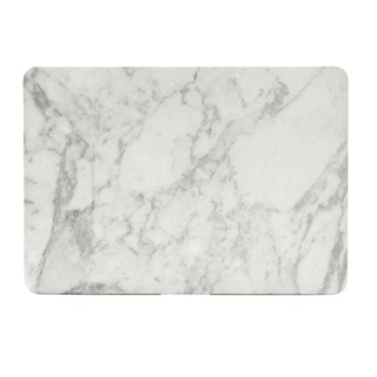 Marbling Protective Tablet Case For Apple Mac-book 13.3 Inch Retina(white-black) - Intl