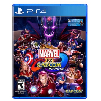 Marvel vs Capcom Infinite [R3] PS4 GAME BNEW MINT CONDITION