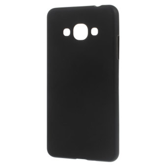 Matte TPU Gel Back Case for Samsung Galaxy J3 Pro (Black) - intl