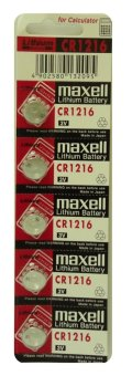 Maxell CR1216 Button Cell Pack of 5 Price Philippines