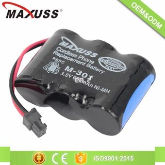 MAXUSS M 301 2/3AA 3.6V Ni-CD Rechargeable Battery Pack Cordlessphone battery pack