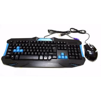Mechanical Gaming Keyboard PS/2 Type with Free usb gaming mouse - 2