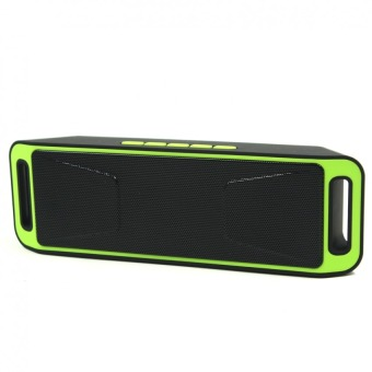 Megabass SC208 A2DP Bluetooth Wireless Stereo Speaker (Green)