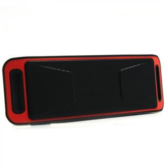 Megabass SC208 A2DP Bluetooth Wireless Stereo Speaker (Red) - 3