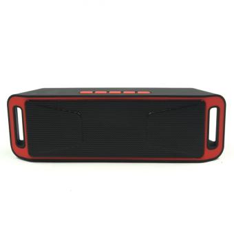 Megabass SC208 A2DP Bluetooth Wireless Stereo Speaker (Red) - 2