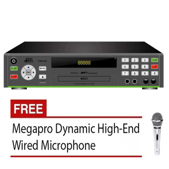 Megapro Doremi D-800 DVD Karaoke Player (Black) with Free High-EndMegapro Wired Microphone Price Philippines