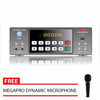 Megapro MP-9000 Karaoke Player 30,000 Songs with Free MegaproMicrophone