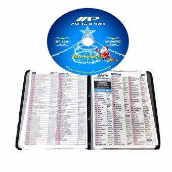 Megapro Songbook for MP1000 / MP1000 PRO and Latest Updated CD Price Philippines