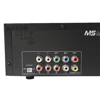 Megasound Gabriel Karaoke MIDI/DVD Player with CD and Songbook(Black) - 4