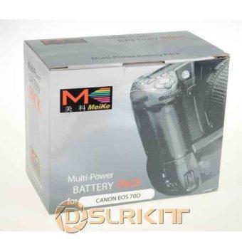 MeiKe BG-E14 BGE14 Battery Holder Grip for Canon EOS 70D - intl - 4