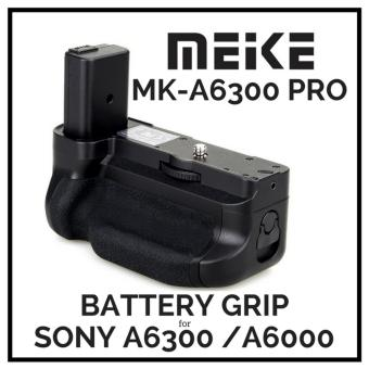 meike MK-A6300 Vertical Battery Grip Gand Pack holder For Sony A6300 ILCE-6300 camera NP-FW50