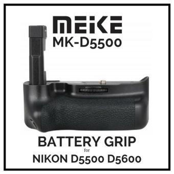 Meike MK-D5500 D5600 Vertical Battery Grip for Nikon D5500 D5600 Works with 2 x EN-EL14a Lithium ion Batteries