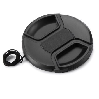 Meking 58mm Camera Snap-on Lens Cap Cover with Cord for Canon Nikon DSLR Lens