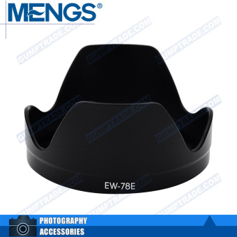 Mengs EW-78E petal bayonet Lens Hood for Canon EF-S 15-85mm