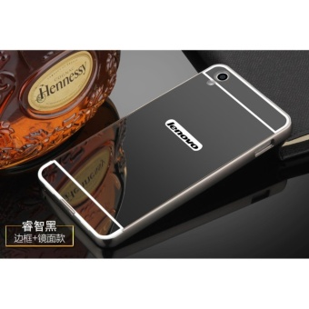 Metal Bumper and Mirror PC Back Cover Case For Lenovo P70 - intl