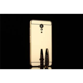 Metal Bumper and Mirror PC Back Cover Case For Lenovo Vibe P2 - intl