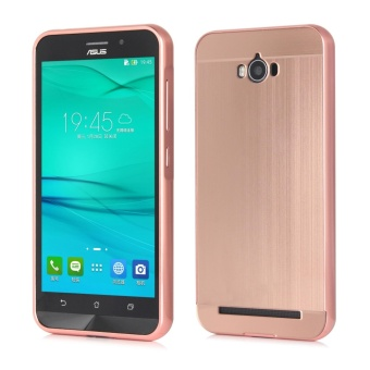 ... Lg K10 2017 Rosegold Source · Metal Bumper And Wire Drawing PC Back Cover Case For ASUS Zenfone Max ZC550Kl Rose
