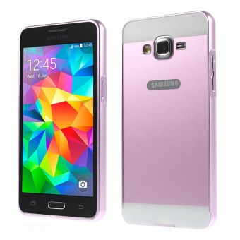 Metal Frame and PC Back Combo Case for Samsung Galaxy Grand PrimeSM-G530H - Pink - intl