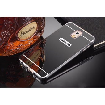 Metal frame bumper case for Samsung J7 Pro (black)