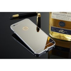 For Oppo A37 Mobile Phone Case Mirror Plating Drop Proof Bracket Source · Metal mirror border Back Case Cover For Apple iPhone 5 5s silver
