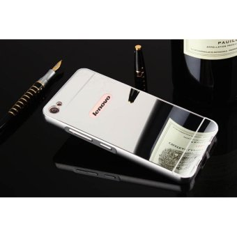 Metal mirror border Back Case Cover For Lenovo S60 (silver) - intl