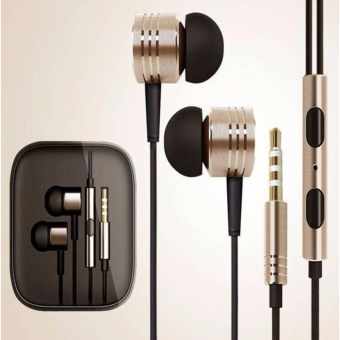 metallic earphone